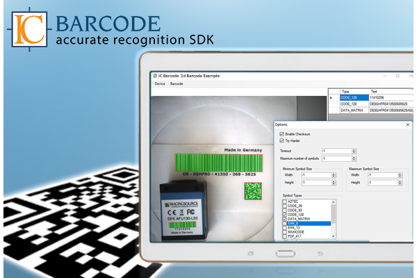 IC Barcode: Free SDK for Barcode Recognition